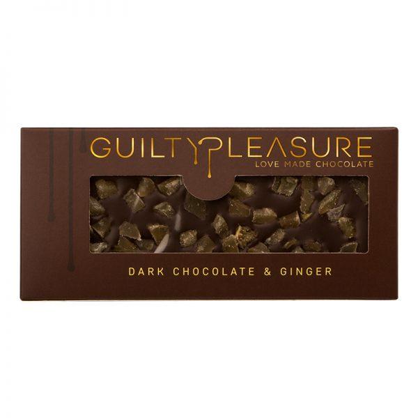 Tabletă Ciocolată Neagră cu Ghimbir