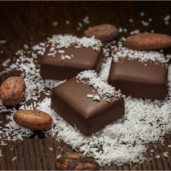 CHOCOLATE & COCONUT FLAKES